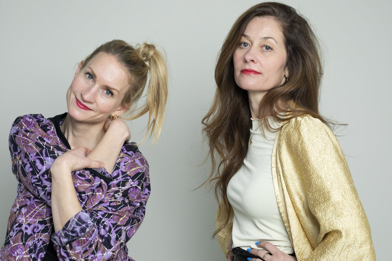 Hovedrolleinnehaver Birgitte Larsen og regissør Itonje Søimer Guttormsen. Fotograf: Ingrid Eggen